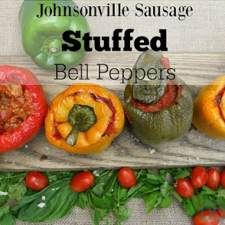 Sausage Stuffed Bell Peppers.