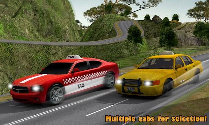 Taxi: Hill Station - screenshot