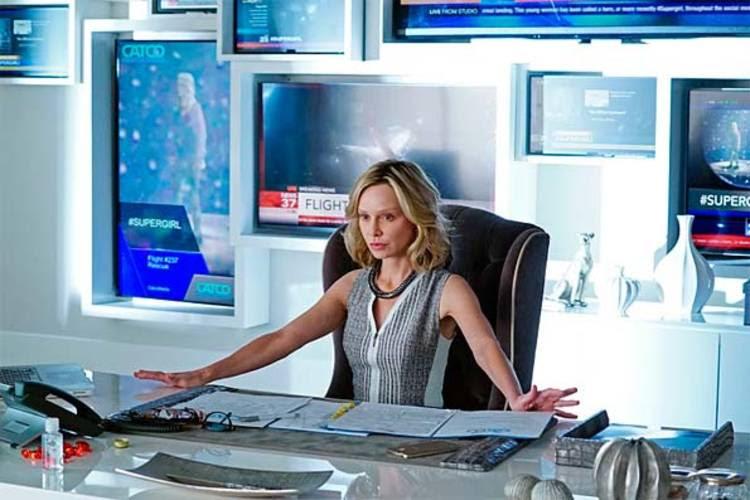 Cat Grant, la déspota jefa de Supergirl