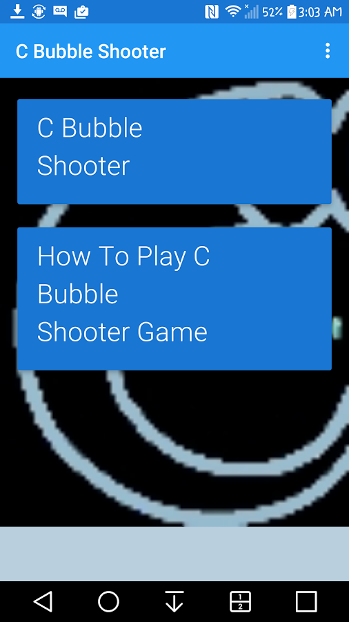 C Bubble Shooter- screenshot