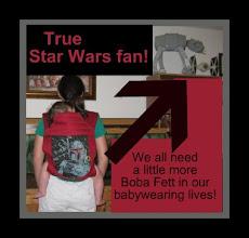 "Photo: ""Boba Fett"" custom BabyHawk with cherry red straps"