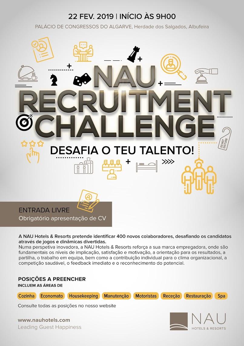 NAU Hotels & Resorts promove evento de recrutamento para preencher 400 vagas
