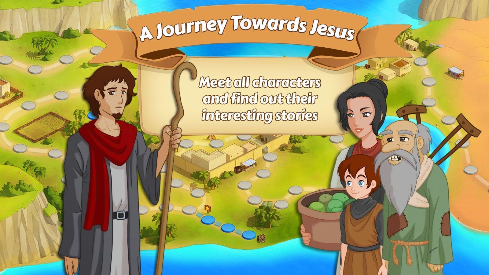 A Journey Towards Jesus- screenshot