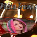 Wine Glass Photo Frames 2016 icon