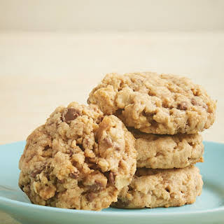 Peanut Butter Toffee Oatmeal Cookies.