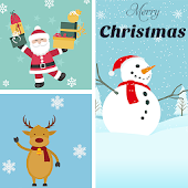 Christmas Grid Photo Collage 🌟 Layout Collage