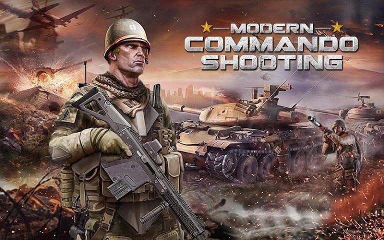 android Modern Commando Combat Shooter Screenshot 0