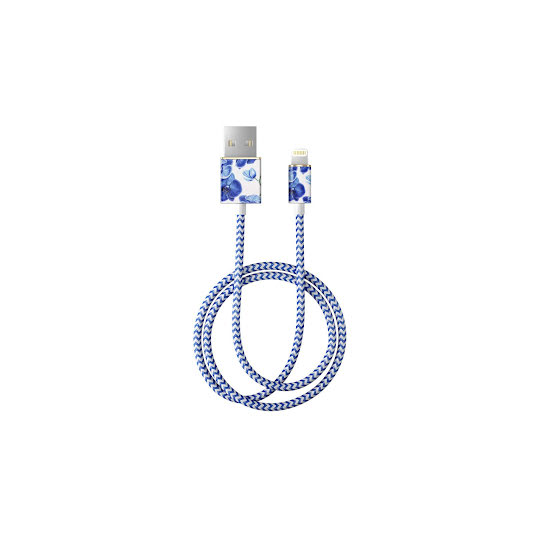 iDEAL Fashion Lightning Cable 1M Baby Blue Orchid