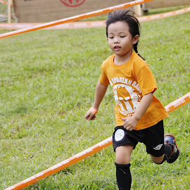 Young Athlete #1 by Koh Chip Whye - Sports & Fitness Running