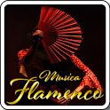 Flamenco music icon