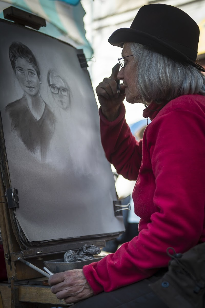 le peintre di Mauro Rossi