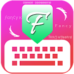 Fancy Stylist Fonts Keyboard Icon