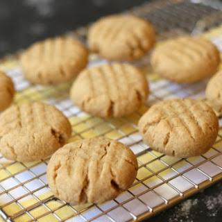 Soft Gluten Free Peanut Butter Cookies