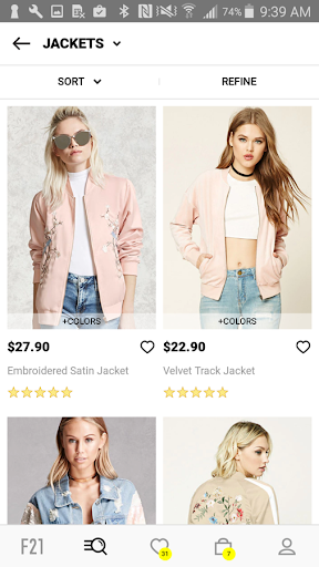 Forever 21 Screenshot
