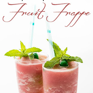Easy Fruit Frappe