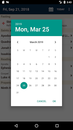 Screenshot for Daily Readings Plus in Hong Kong Play Store