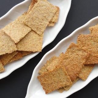 Keto Flaxseed Chips.