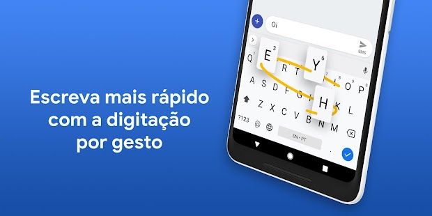 Gboard, o Teclado do Google Screenshot