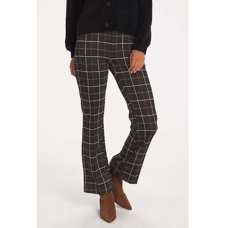 Part Two Ilisan pants big check black