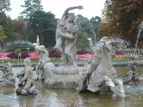 Photo: Fountain in the formal garden.