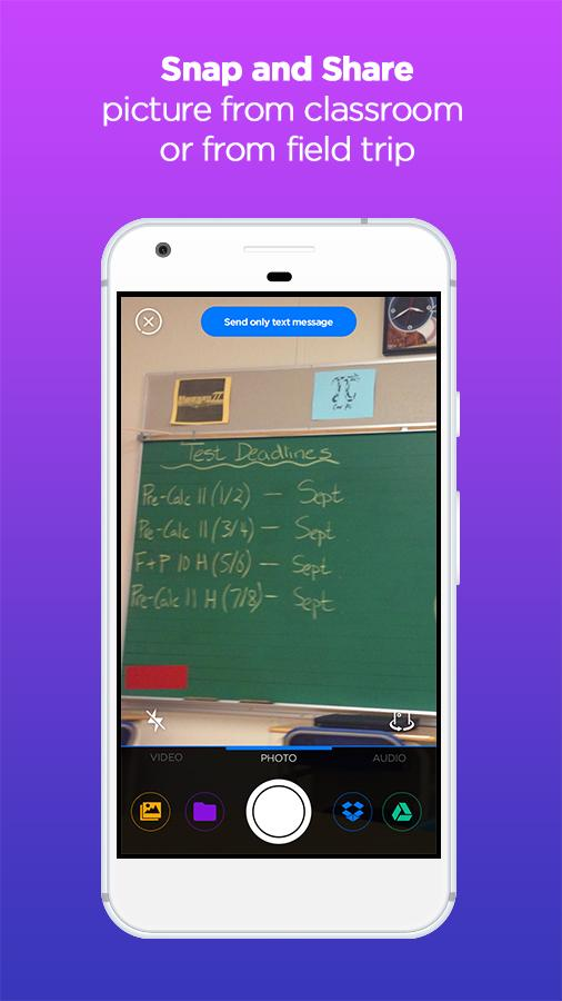 Snap Homework App- screenshot