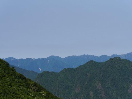 大峯山脈南部