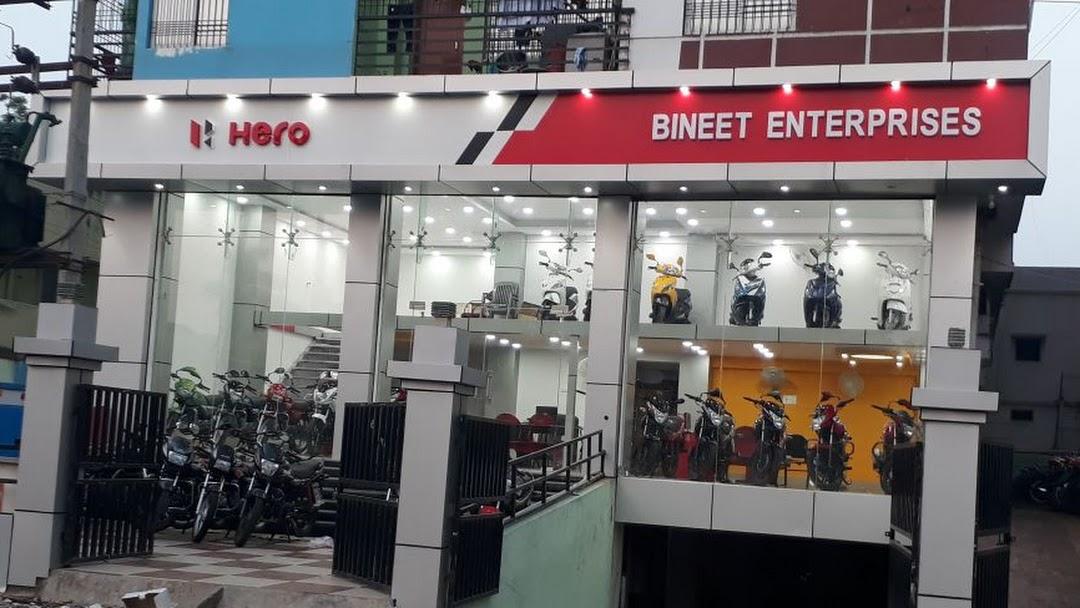 Bineet Enterprises Hero Showroom Service Centre - Motorcycle