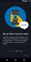 screenshot of Moto Voice for Alexa