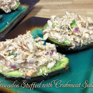 Avocados Stuffed with Crabmeat Salad Recipe