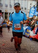 Photo: Van deze marathon is geen album gemaakt. Foto van de finishfoto genomen.