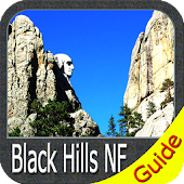 Black Hills National Forest - GPS Map Navigator