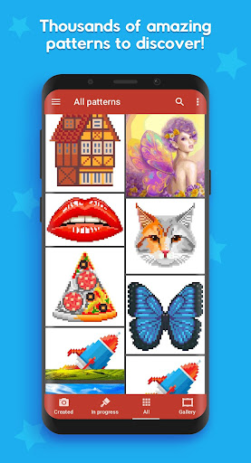 Pixel Tap: Color by Number 1.0.15 screenshots 1