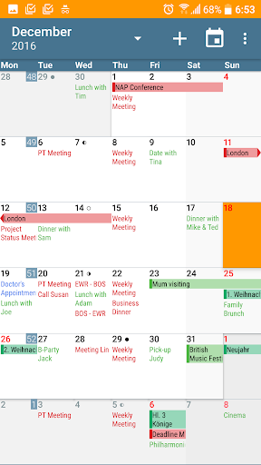 aCalendar+ Calendar & Tasks v1.16.9 [Paid]