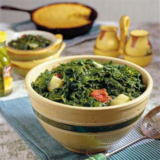 Southern Turnip Greens and Ham Hocks