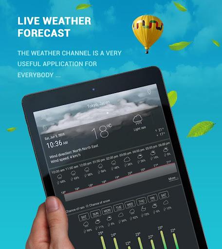 توقعات الطقس 2019 screenshot 10
