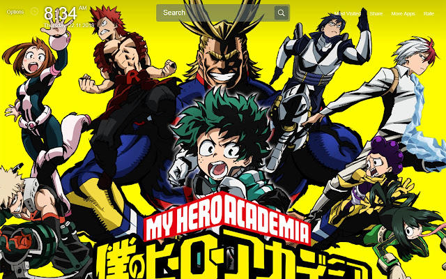 Boku NO Hero Academia Wallpapers New Tab