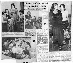 Photo: Vasselhytans bygdegården 1974