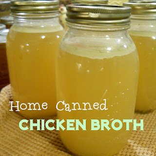 Making and Canning Your Own Chicken Stock