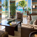 luxurious suite features hotel icon
