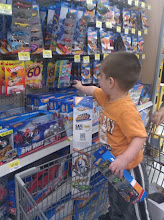 Photo: We can't take the kids to the store without getting new Hot Wheels. I couldn't find any Avengers ones though.