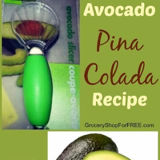 Avocado Pina Colada Recipe!.