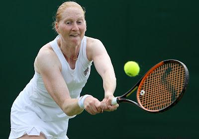 Alison Van Uytvanck speelde een prima wedstrijd tegen Petra Kvitova in Sint-Petersburg