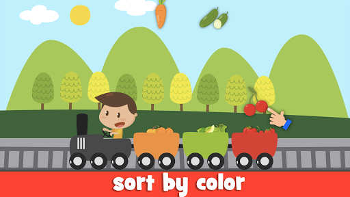 Learn fruits and vegetables - games for kids  screenshots 20
