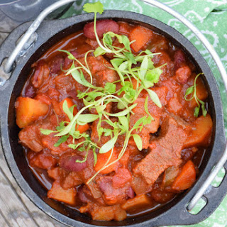 Beef and Butternut Chili #BeefTogether.