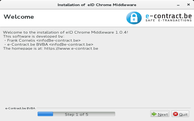 eID Chrome Extension