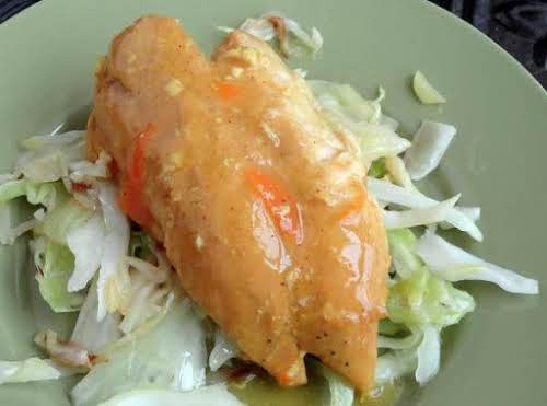 """Crock Pot Citrus Chicken""""I was brainstorming what to do with a bag..."""