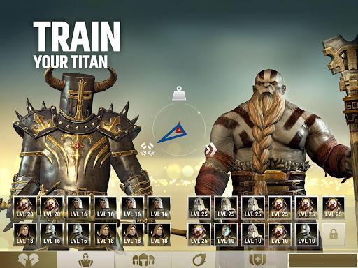 Dawn of Titans - Epic War Strategy Game  screenshots 7