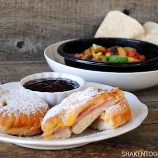 Breakfast Monte Cristos & Breakfast Burrito Bowls