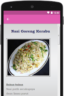 Nasi Goreng Sedap for PC-Windows 7,8,10 and Mac apk screenshot 5