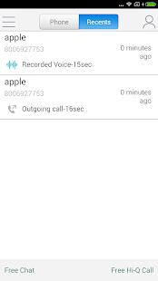 WePhone – free phone calls & cheap calls 5